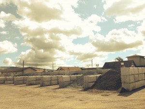 Dryscape Materials - Sonoma County Landscape Materials Supplier - Bunkers 1